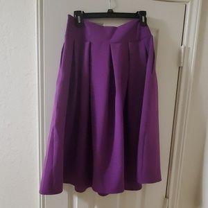 Persun Skirts - Purple A line skirt